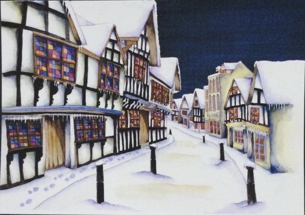 This image has an empty alt attribute; its file name is Friar-Street-Worcester.in-The-Snowjpeg.jpeg